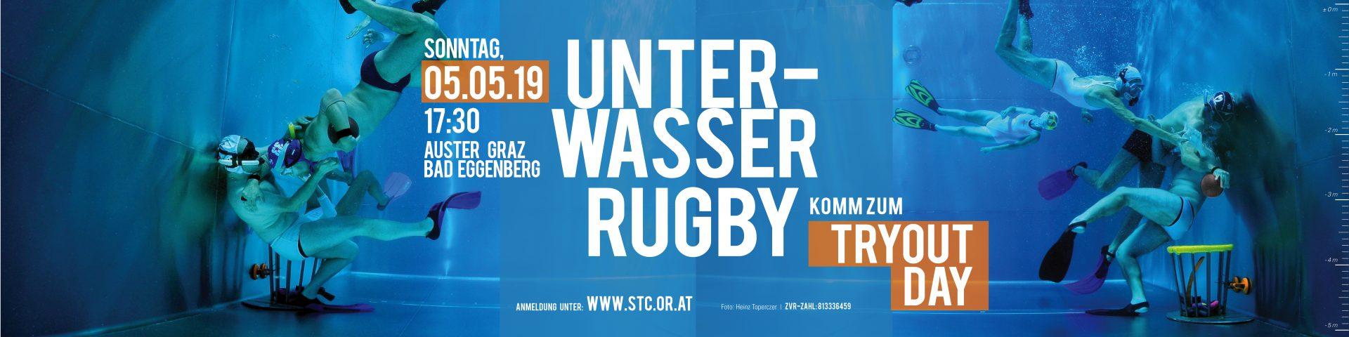 Tryout Day Unterwasser Rugby Gratis Ausprobieren Stc