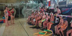 Jugendtraining Unterwasserball
